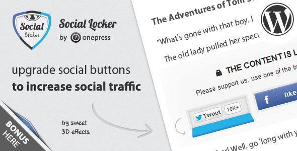 Cómo ofrecer contenido en tu blog a cambio de acciones sociales