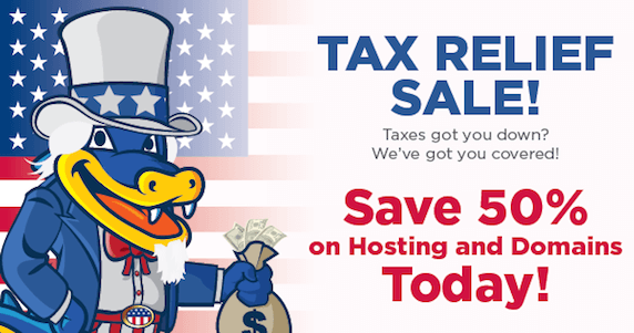 tax-relief-sale-hostgator