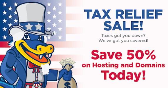 tax-relief-sale-hostgator