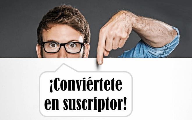 subscribete